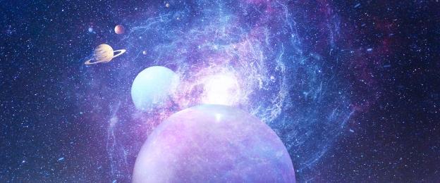 सुंदर रात का आकाश ब्रह्मांड ग्रह, आर्क, आकाशगंगा, ब्रह्मांड ग्रह पृष्ठभूमि छवि