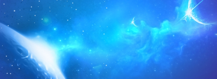 blue technology sense nebula galaxy starry sky background, Blue, Technical, Nebula Background image