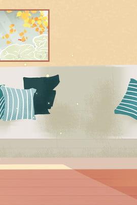 sofa sofa nhà đồ nội thất nhỏ đồ nội thất hoạt hình , Mô Hình Hoạt Hình, Trang Trí Nội Thất, Phim Ảnh nền