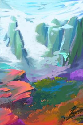 色 山川 テクスチャ テクスチャ , テクスチャ, 自然, 背景 背景画像