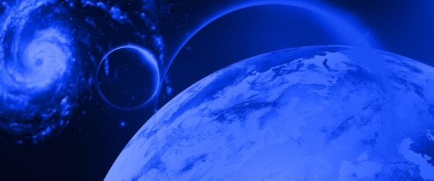 तारों वाला आकाश ब्रह्मांड नीला ढाल वातावरण, लौकिक, पृथ्वी, की पृष्ठभूमि छवि