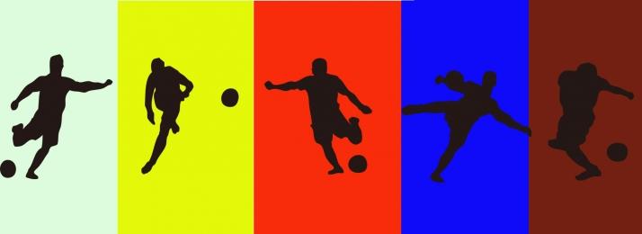 サッカー スポーツ シルエット ランニング, サッカー, スポーツ, サッカーシルエット 背景画像