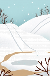 illustration wind hand drawn winter snow , Tangan, Snowmelt, Salji imej latar belakang