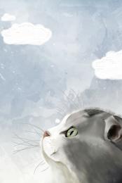 mèo thức ăn cho mèo mèo mèo , Nền, Tay, Vẽ Ảnh nền
