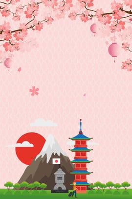 東京 大阪府 japan impression 日本旅行 , 日本旅行のポスター, Japan Impression, 海外旅行 背景画像