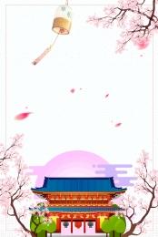 東京 大阪 日本の印象 日本旅行 , 日本旅行のポスター, 階層化ファイル, 日本の建築 背景画像