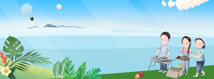 五一 風景 郊遊 banner 綠色 放鬆 植物背景圖庫