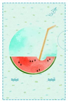 夏天 夏季 清爽 水貨 , 清爽, 五月水果, 西瓜 背景圖片