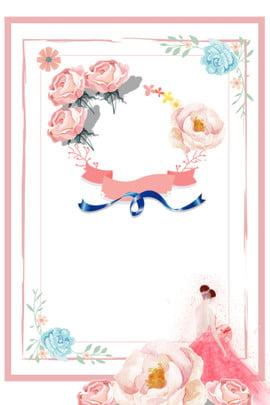 婚博會 婚慶 婚禮 百年好合 , 玫瑰, 新娘, 婚博會 背景圖片