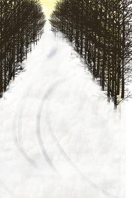 white creative winter season , Creative, Growth, Environment Imagem de fundo