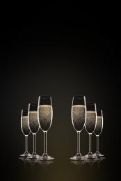 大氣 簡約 紅酒 酒杯 , 酒杯, 莊重, 簡約 背景圖片
