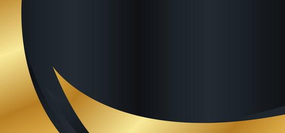 black gold high end atmosphere business card background, Business Card, Card, Black Gold Background image