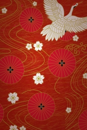 Japanese zephyr red shading Background Floral Japanese Imagem Do Plano De Fundo