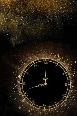 luxury golden clock announcement , Time, Gold Sand, Announcement Imagem de fundo