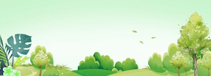 夏日 清新 場景 清涼 卡通 簡約 背景背景圖庫