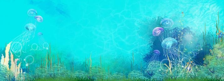 underwater world tourism jellyfish sea, Summer, Underwater World, Tourism Фоновый рисунок