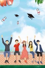 若者は卒業しません 卒業シーズンのポスター 私たちは卒業しました 若者 , 若者は道を進んで, 私たちは卒業しました, 若々しいです 背景画像