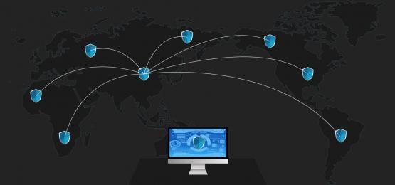 Black cyber security banner background, Black, Network, Complete Background image