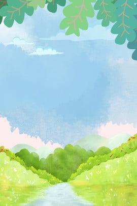 white clouds blue sky grass blue , Grass, Plant, Sky ภาพพื้นหลัง