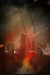 Đốt đỏ nền thành phố nền cháy , Nền, Ngọn Lửa, Thành Ảnh nền