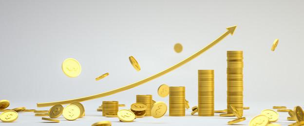 c4d finance gold coin money, Money, Gold Coin, Gold Imagem de fundo