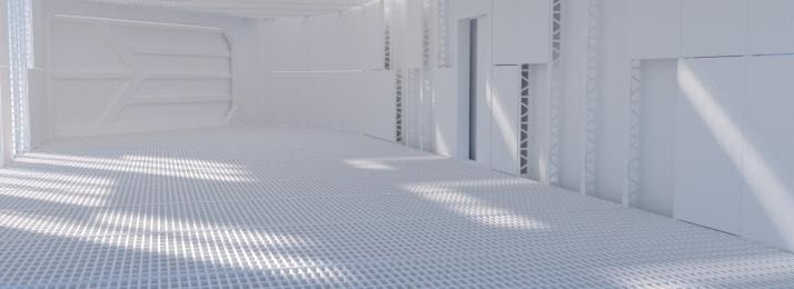 सी 4 डी दृश्य सफेद फैशन, सफेद, आयामी, प्रौद्योगिकी पृष्ठभूमि छवि