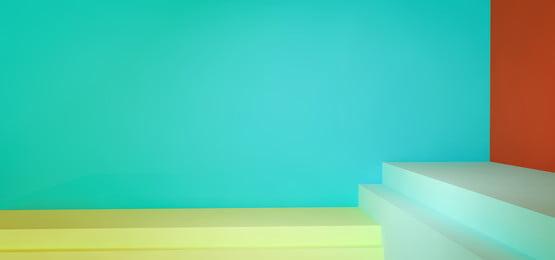 c4d simple multi color square, Simple, Multi-color, Space Imagem de fundo