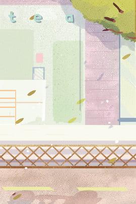 रंग रचनात्मक छोटे ताजा चित्रण , छोटे ताजा, संरक्षण, चित्रण पृष्ठभूमि छवि