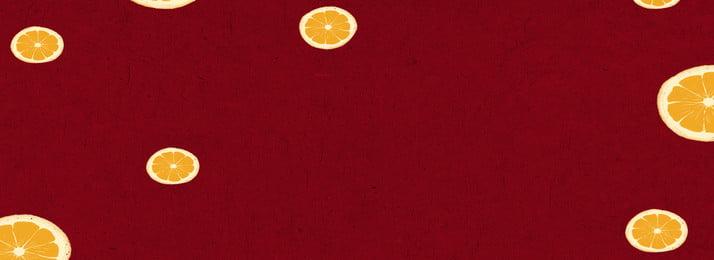क्रिमसन बनावट नींबू अलंकरण फल, गर्मी, सपाट, क्रिमसन पृष्ठभूमि छवि