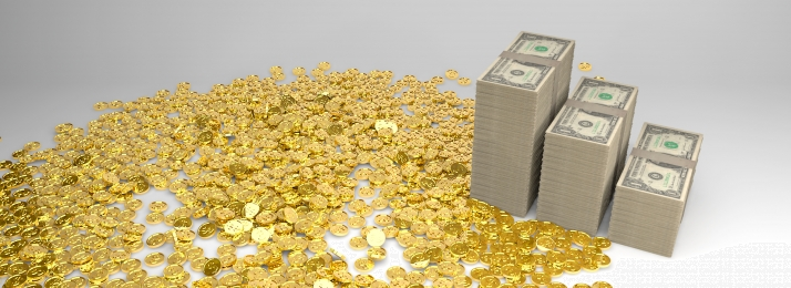 financial finance financial business gold coin and dollar background, Finance, Financial, Financial Background image