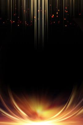 gold creative black gold bling , Background, Light Effect, Gold Фоновый рисунок