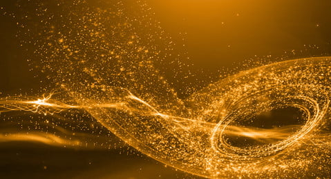 particle golden particle particle effect technology, Particle Light Effect, Particle Effect, Technology zdjęcie w tle