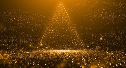particle golden particle particle effect technology, Effect, Technology, Particle Light Effect zdjęcie w tle