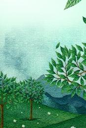 green background spring spring plant , Spring, Texture, Leaves ภาพพื้นหลัง