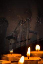 미니멀리즘 촛불 기도 자연 재해 , 재앙, 장비, 축복 배경 이미지