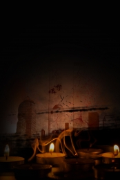 미니멀리즘 촛불 기도 자연 재해 , 배경, 배경, 자연 재해 배경 이미지