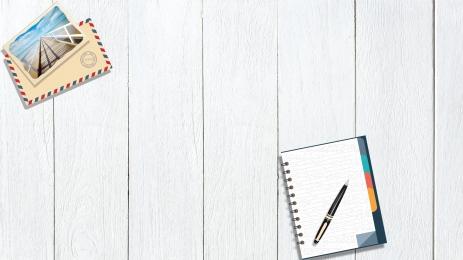 overlooking minimalist desk envelope, Desk, Simple, Letter Background image