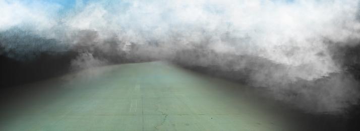 Ảo giác đường cao tốc tốc độ khí quyển, Sương Mù, Khí, Khí Quyển Ảnh nền
