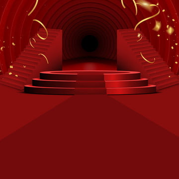Red Simple red Stage Red Illustration Imagem Do Plano De Fundo
