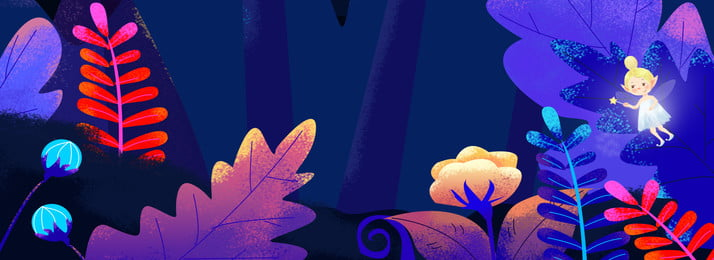 Spiritual Dream Forest Banner, Forest, Dream, Plant, Background image