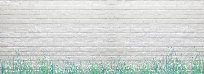 white green brick wall, Background, Fresh, White Imagem de fundo