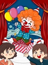 april fools day propaganda clown creative , Design, April Fool's Day, Background Imagem de fundo