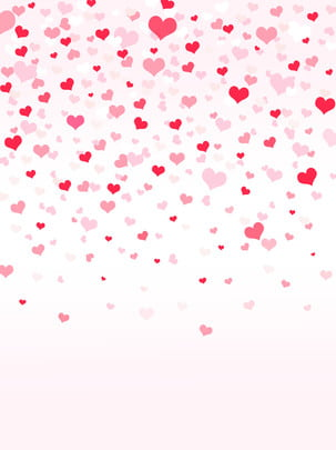 pngtree beautiful romantic full heart pink background image 276913
