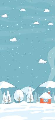 winter solstice background snow winter winter solstice , Romantic, Houses, Winter Solstice Imagem de fundo