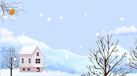 winter solstice background snow winter winter solstice, Beautiful, Houses, Traditional Solar Terms Imagem de fundo
