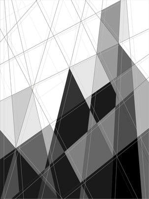 黑白 無色彩 男性 冷酷 , 線條切割背景, 色塊, 幾何 背景圖片