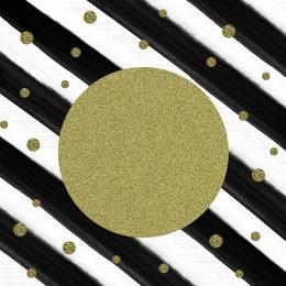 gold polka dots stripes black , Gold, Black, Wave Фоновый рисунок
