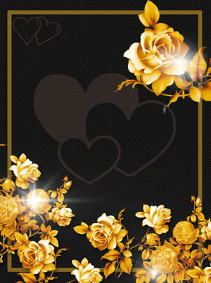 black shading cool golden rose love background , Black, Shading, Cool Background image