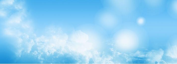 ब्लू आकाश ppt पृष्ठभूमि, आकाश, नीले, चित्र पृष्ठभूमि छवि