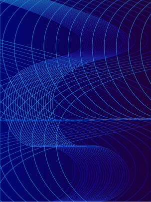 blue tech network wave curve background , Curve, Wave, Stripes Background image